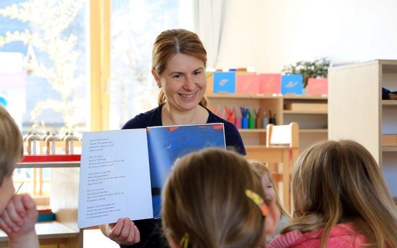 Montessori-vyuka
